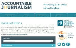 Accountable Journalism