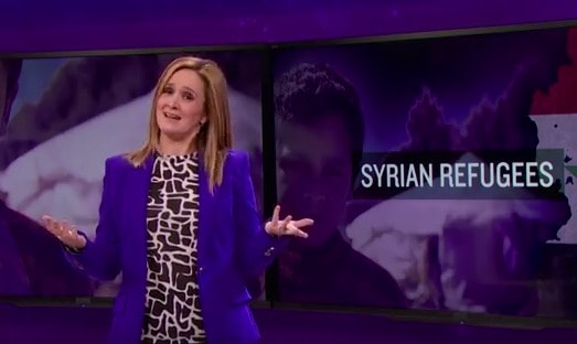 Screenshot from Full Frontal with Samantha Bee.