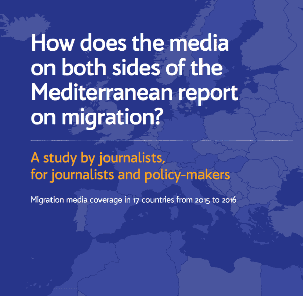 How does both sides of the media report on Migration