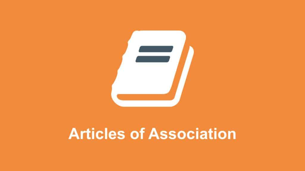 Articles of Assocaition