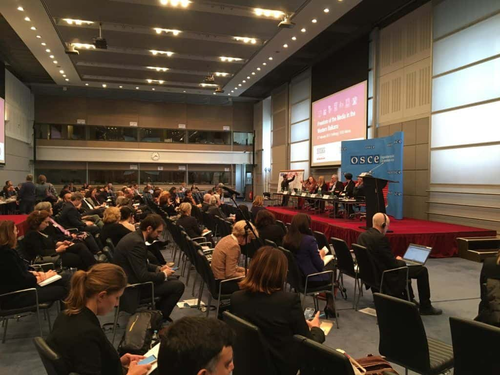 OSCE media freedom conference