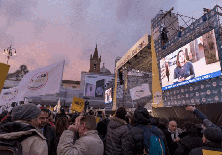 Italian Media: Fear and insecurity dominate election