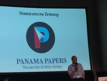 PROUD EDITOR - Wolfgang Krach in Süddeutsche Zeitung presents the work of the Panama Papers