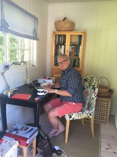 IN THE SUMMER OFFICE - The author summarizes his notes about the future of journalism. A long summer is almost over.