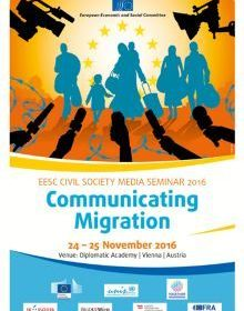 EESC Civil Society Seminar on Communicating Migration 2016