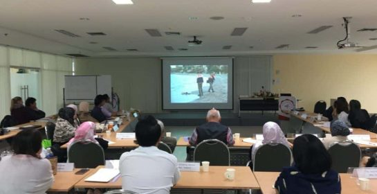 Screening of Sea of Pictures at medial literacy workshop for experts from Malaysia, Thailand and Vietnam in Bangkok, 5 October 2017.
