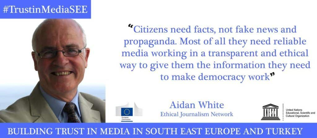 Building trust in media in South East Europe and Turkey