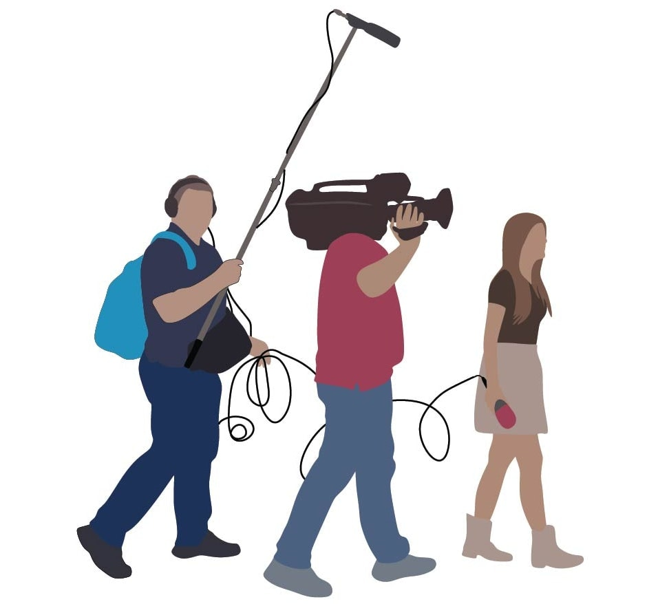 Local journalists are often the only journalists that most people will ever meet. teka12/Shutterstock.com