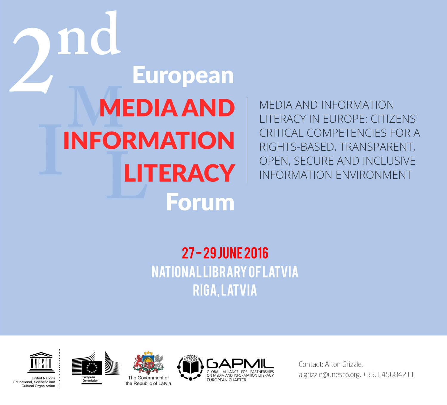 Second European Media and Information Literacy Forum