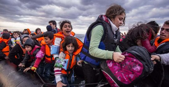 Ethics News Refugees being rescued Image